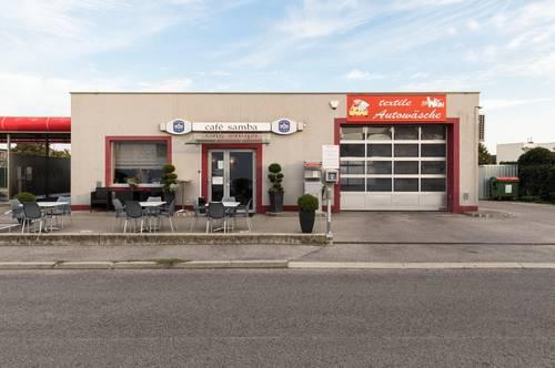 """+Hervorragendes Ertragsobjekt! """"Autowaschcenter"""" mit Café im Zentrum von Oberpullendorf!+"""