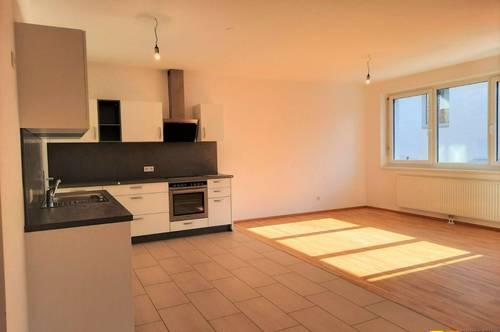 Moderne Wohnung mit Balkon und Loggia