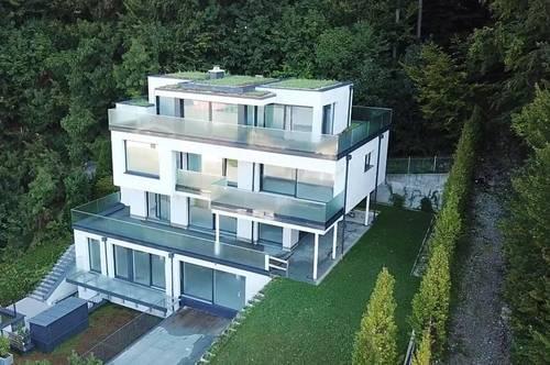 Salzburg Aigen Erstbezug 2021: exklusive 1 - 2 Familienvilla mit ca. 380 m² Wohnfläche mit Blick auf die Mozartstadt