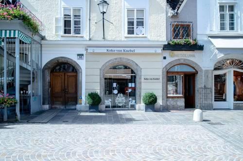 Geschäftslokal in Salzburger Bestlage!