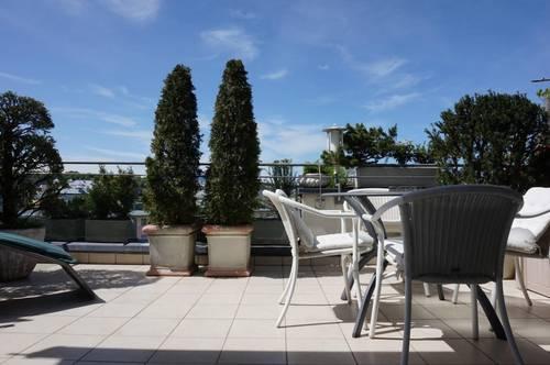 Schallmoos: 3-Zimmer-Dachterrassen-Maisonette mit Bergblick