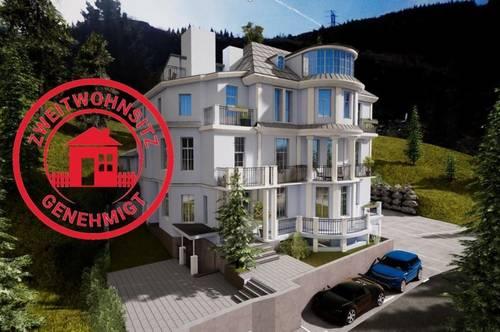 VILLA HISS: 3-Zimmer-Dachgeschoßwohnung mit traumhaften Bergblick