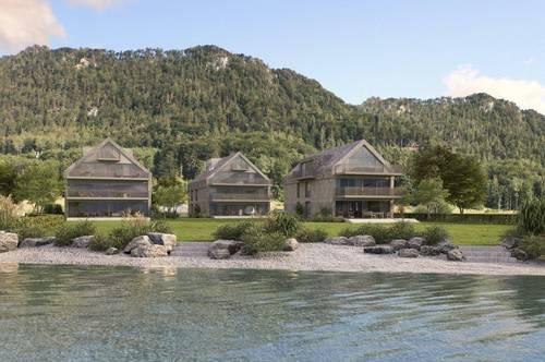 Attersee: Einzigartige 4-Zimmer-Dachgeschossmaisonette mit Seezugang!