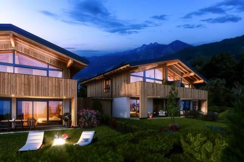 Zell am See: Doppelhaushälfte in Ruhelage mit Weitblick