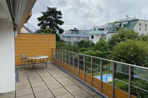 360° Rundgang - Exklusive 3 Zimmerwohnung mit 28 m² Süd-Terrasse in Sievering