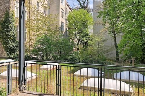 großzügige Loft Wohnung mit Balkon im Margareten! Hofruhelage