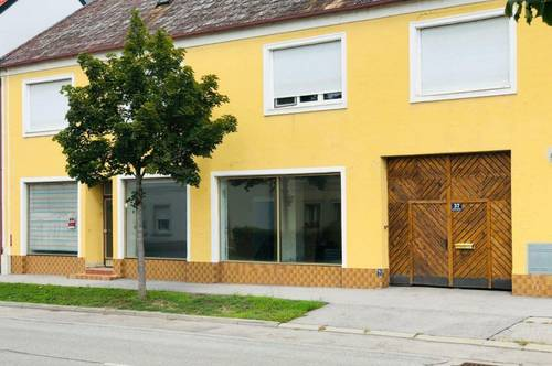 Wohnhaus mit Geschäftslokal 5 Min. Neusiedlersee