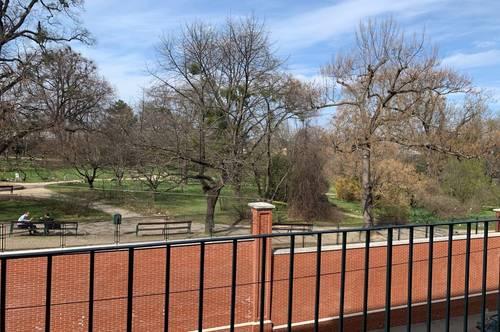 2 Zimmer Wohnung mit Balkonblick in den botanischen Garten