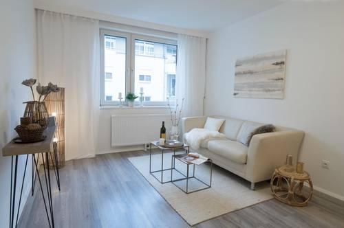 schön sanierte, helle 2-Zimmer Wohnung mit neuer Küche. Super Infrastruktur und Blick bis zum Stephansdom!