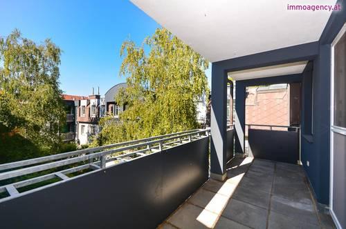 3 Zimmer Neubauwohnung mit großem Balkon