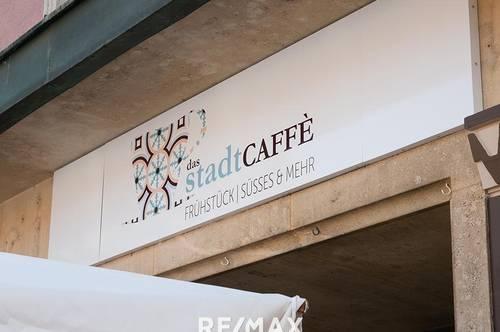 """Das Stadtcaffe"" in Neusiedl am See"