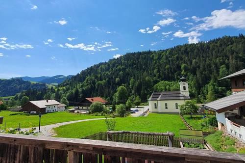 Erstbezug: 4-Zimmer Mietwohnung in schöner Aussichtslage Thiersee-Landl