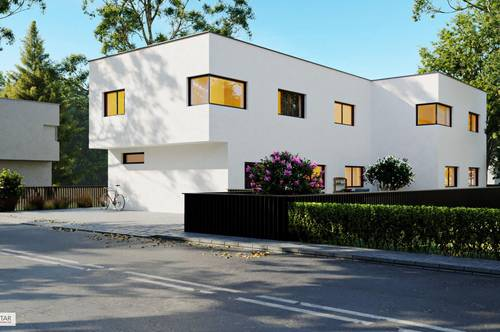 (PRIVATSEE IN PARNDORF) +WOW+ Einzigartige 4-Zimmer Doppelhaushälfte am privaten Badesee!! (belagsfertig)