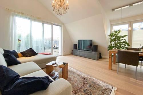NEU:::Grosszügige Maisonettewohnung mit Terrasse, Balkon und Garagenstellplatz in Grünruhelage Nähe Stadtplatz:::