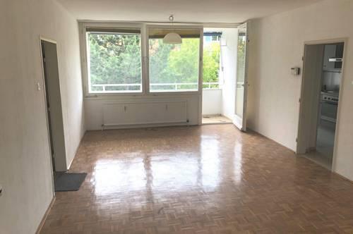 Maria Enzersdorf! Helle 3-Zimmer Wohnung mit Loggia und Blick in´s Grüne!