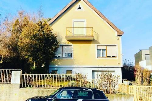 Einfamilienhaus zur Miete mit großzügigem Garten und bester Fernsichtin BESTLAGE in Maria Enzersdorf nahe St. Raphael!