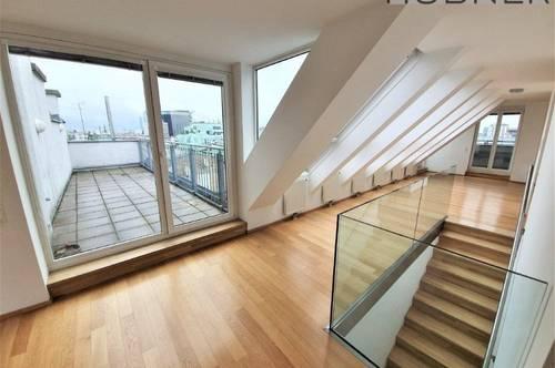 ECKE HOHER MARKT: Traumhafte Terrassenwohnung mit fantastischem Fernblick inkl. Stephansdom
