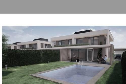 Nur noch eine Doppelhaushälfte auf Eigengrund, 214 m² Wohnnutzfläche, 5 Zimmer-2 Etagen, Carport-Baubeginn 2020