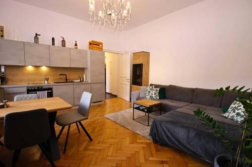 Teilmöblierte 2-3 Zimmer Mietwohnung mit PKW Abstellplatz
