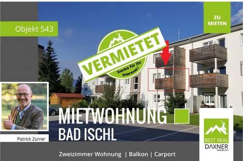 Vermietet! 2 Zimmer Wohnung in Bad Ischl