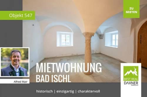 Historisch, moderne Mietwohnung in Zentrumsnähe von Bad Ischl