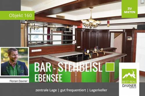 """Bar/""""Stehbeisl"""" im Zentrum von Ebensee!!"""