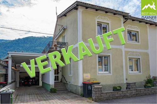 Verkauft! Kompaktes Einfamilienhaus in zentraler Lage von Ebensee am Traunsee!