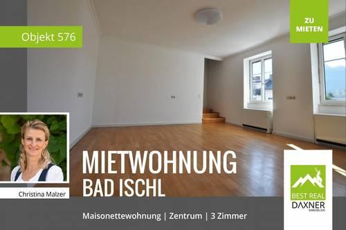 Charmante Mietwohnung mit 2 Wohnebenen in Bad Ischl!