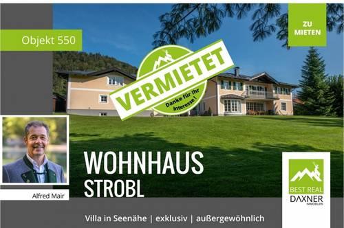 Vermietet! Exklusives Landhaus in Strobl am Wolfgangsee zu mieten