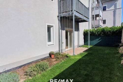 Schöne 2-Zimmer Wohnung mit eigenem Garten-für Anleger Ust. Abzug möglich!