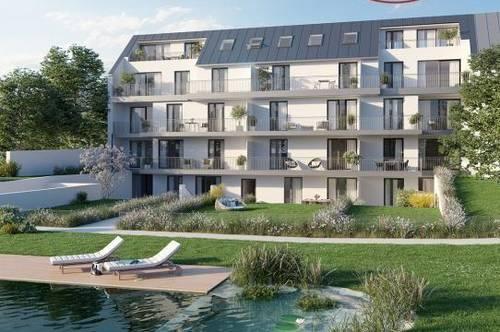 Provisionsfrei für Käufer - Ruhige 2 Zimmer-DG-Wohnung mit großen Terrassen
