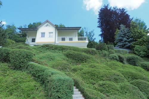 Einfamilienhaus mit Blick ins Alpenvorland
