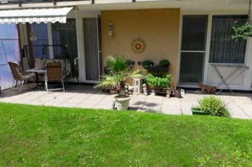 Schöne Gartenwohnung mit Tiefgaragenplatz in absoluter Grünruhelage! Nähe Kaiserebersdorf