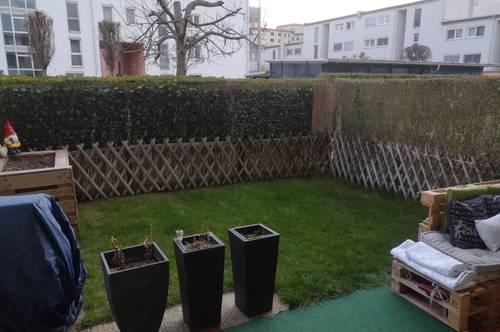 Herrliche sonnige Gartenwohnung mit cooler Raumaufteilung und Tiefgarage(5296)