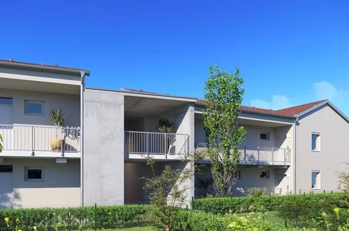 PROVISIONSFREI: 2-Zimmer-Wohnung mit Eigengarten - Neubau, Erstbezug!