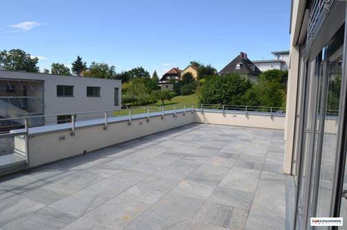 Exklusives Penthouse mit großer Dachterrasse, in ruhiger Aussichtslage am Ruckerlberg