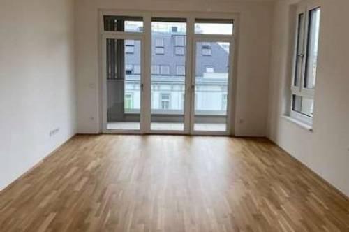 Erstbezug: Wunderschöne, helle 4 Zimmer Neubauwohnung mit 20m² Terrasse nähe Gasometer