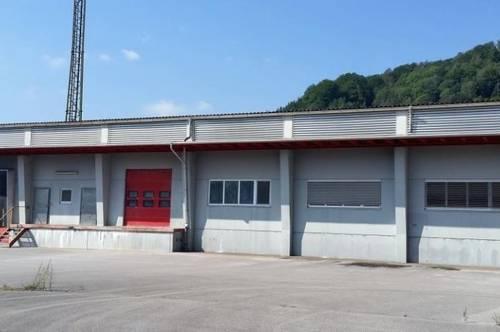 Produktions- Lagerhalle und Büro