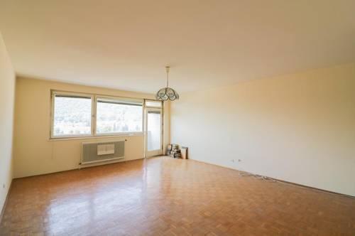 Über 100m² Wohnfläche mit Blick über Graz