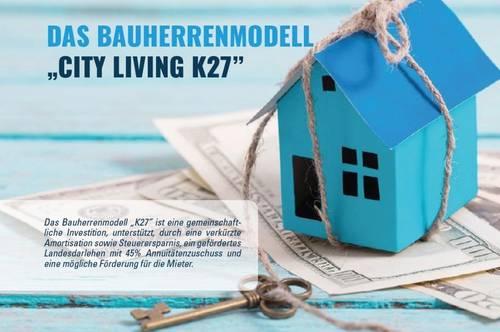 "Bauherrenmodell ""City Living K27"" - 8% Rendite - PROVISIONSFREI"