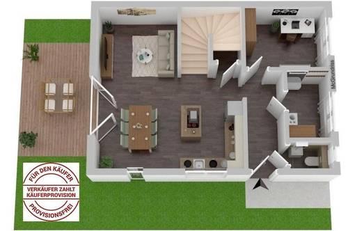 Traumhafter Erstbezug in einer Doppelhaushälfte (5 Zimmer) in Gralla - Haus 4 - Provisionsfrei