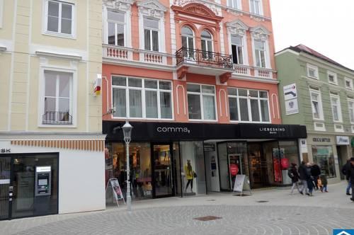 Modernes Geschäftslokal in Bestlage der Fußgängerzone von St. Pölten!