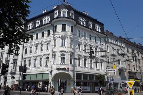 Geschäftsfläche an der Landstraße in Linz!