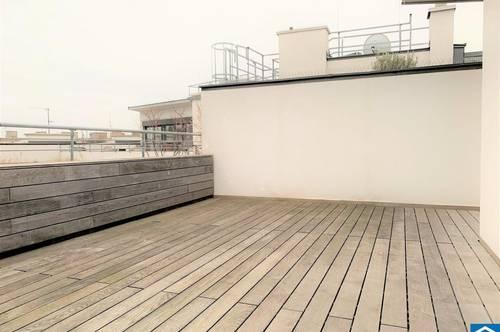 Traumhafte Dachgeschosswohnung mit großzügiger Sonnenterrasse in der Wiener Innenstadt