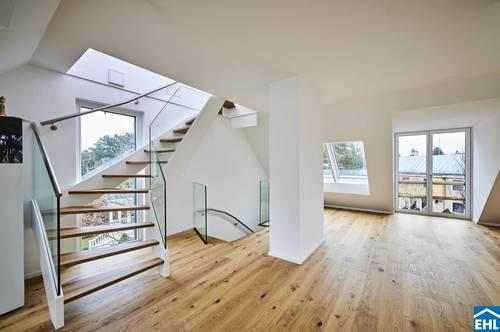 Architekturjuwel mit herrlicher Dachterrasse