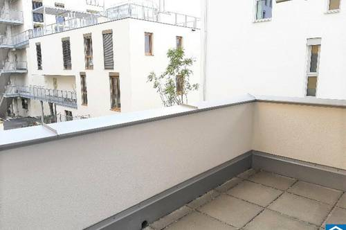 PROVISIONSFREIER ERSTBEZUG: 3 Zimmerwohnung mit Balkon im grünen WILDGARTEN