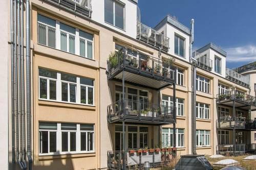 exklusives Loft mit 3 Zimmer inklusive großem Balkon zur freien Gestaltung