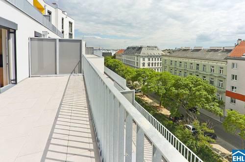 Erstklassige Erstbezugswohnung mit großzügiger Terrasse nähe U3