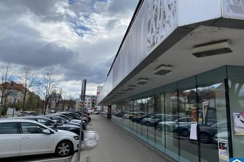 550 m² EG-Geschäftsfläche in zentraler Lage zu vermieten (Erweiterung bis 1.300 m² möglich)