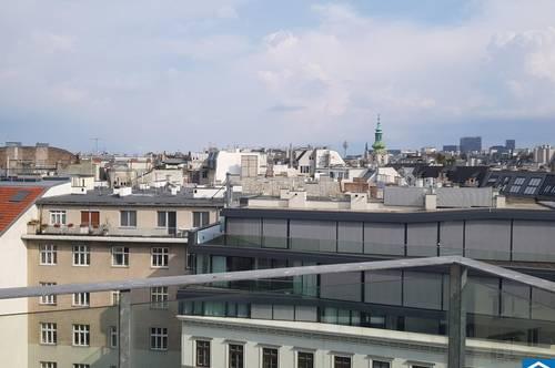 Dachgeschoß-Maisonette-Wohnung mit Terrasse